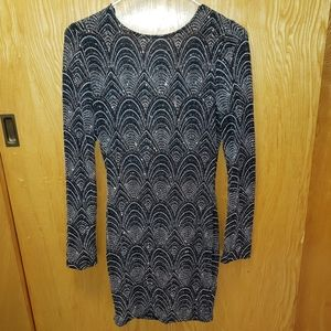 Long Sleeve Cocktail Dress